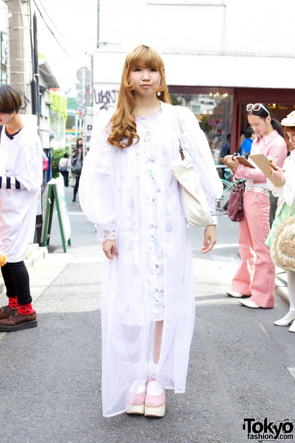 Panama Boy Chiffon Robe & Yakusoku Dress