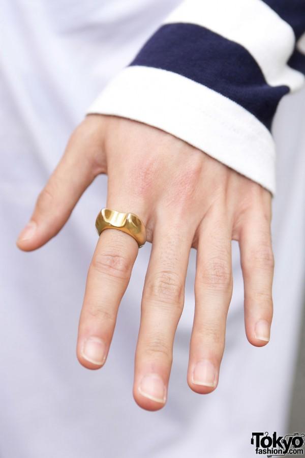 Gold ring from Tsumori Chisato