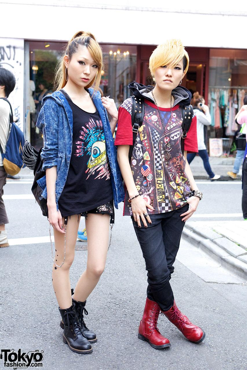 J Pop Singers In Harajuku W Glad News Galstar Ghost Of Harlem