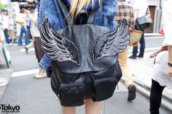 Glad News Winged Backpack