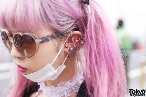 Juria's Earrings in Harajuku