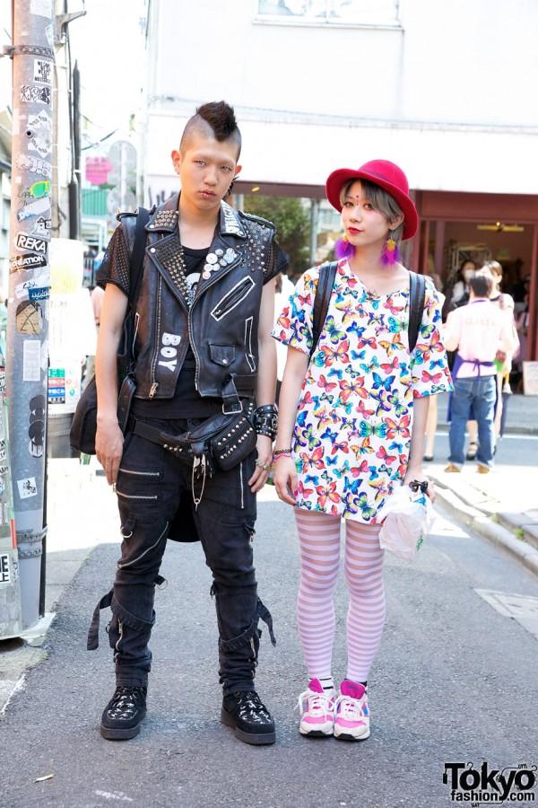 Yui & Ricky in Harajuku