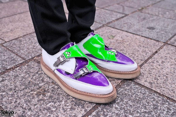 Pointy Buckle Creepers in Tokyo