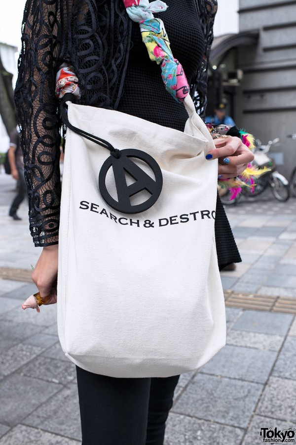 Search & Destroy Anarchy Bag in Tokyo