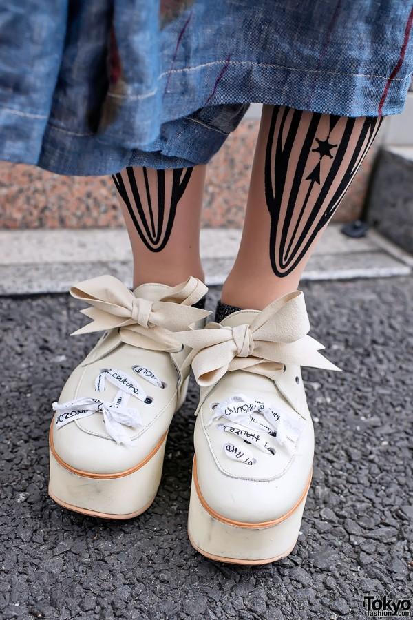 Vive Vagina & Tokyo Bopper Shoes in Harajuku