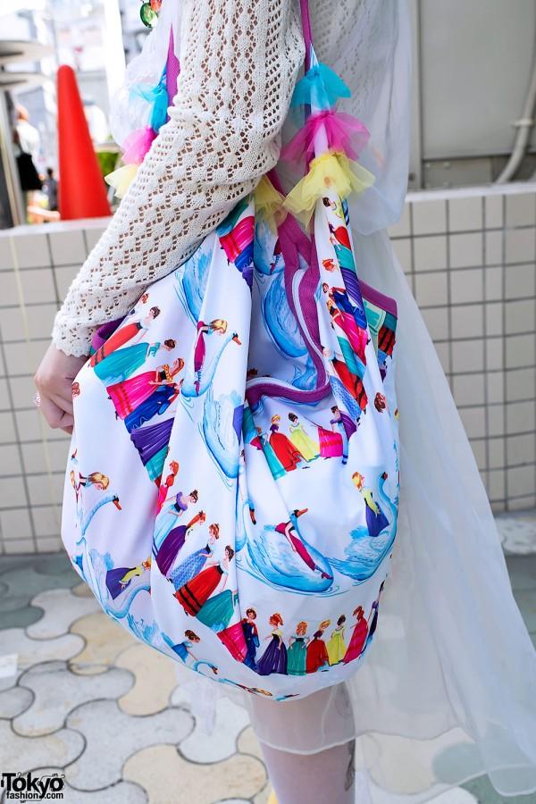 Colorful Harajuku Shoulder Bag