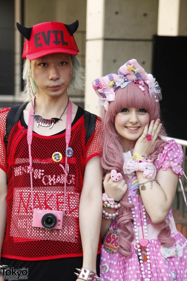 Harajuku Fashion Walk Street Snaps 10 (2)