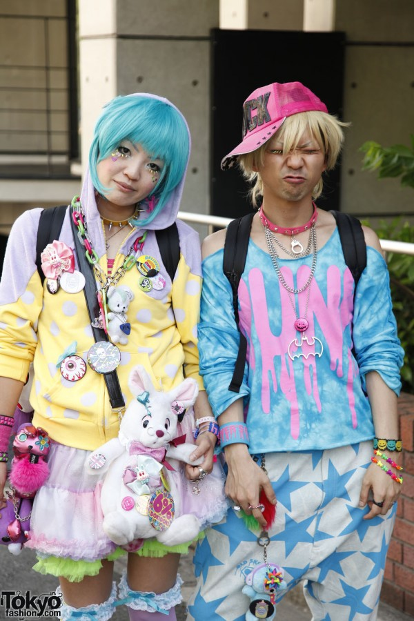 Harajuku Fashion Walk Street Snaps 10 (8)