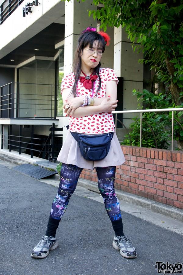 Harajuku Fashion Walk Street Snaps 10 (11)