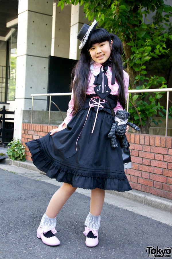 Harajuku Fashion Walk Street Snaps 10 (17)