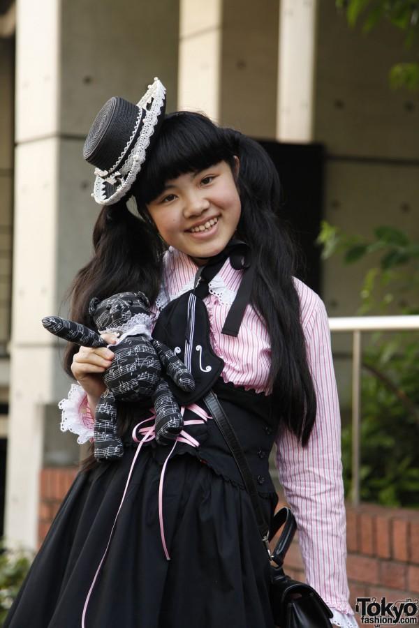 Harajuku Fashion Walk Street Snaps 10 (18)