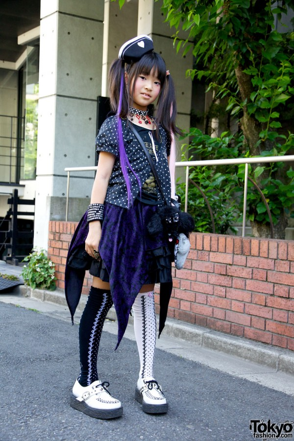 Harajuku Fashion Walk Street Snaps 10 (19)