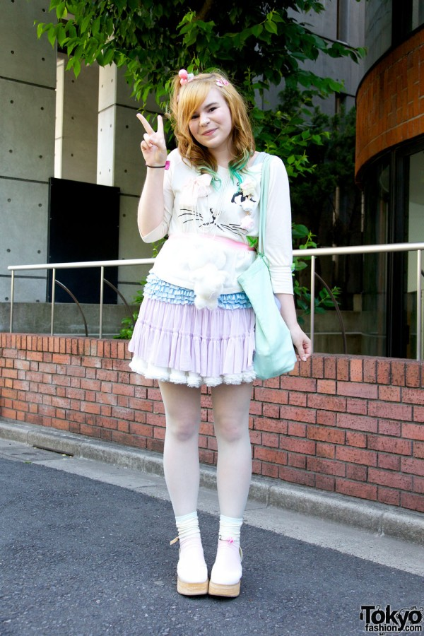 Harajuku Fashion Walk Street Snaps 10 (21)