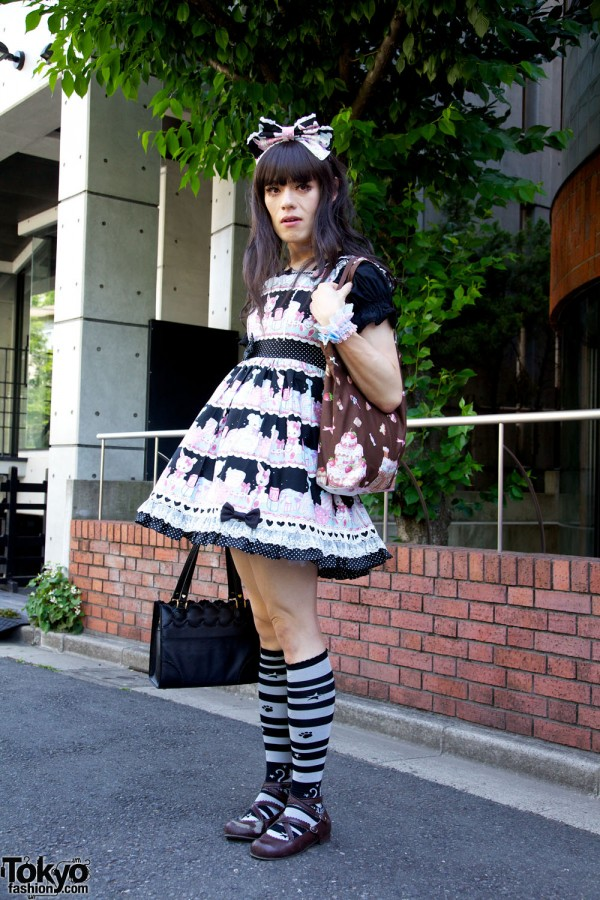 Harajuku Fashion Walk Street Snaps 10 (35)