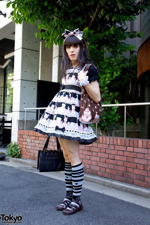 Harajuku Fashion Walk Street Snaps 10 (35)