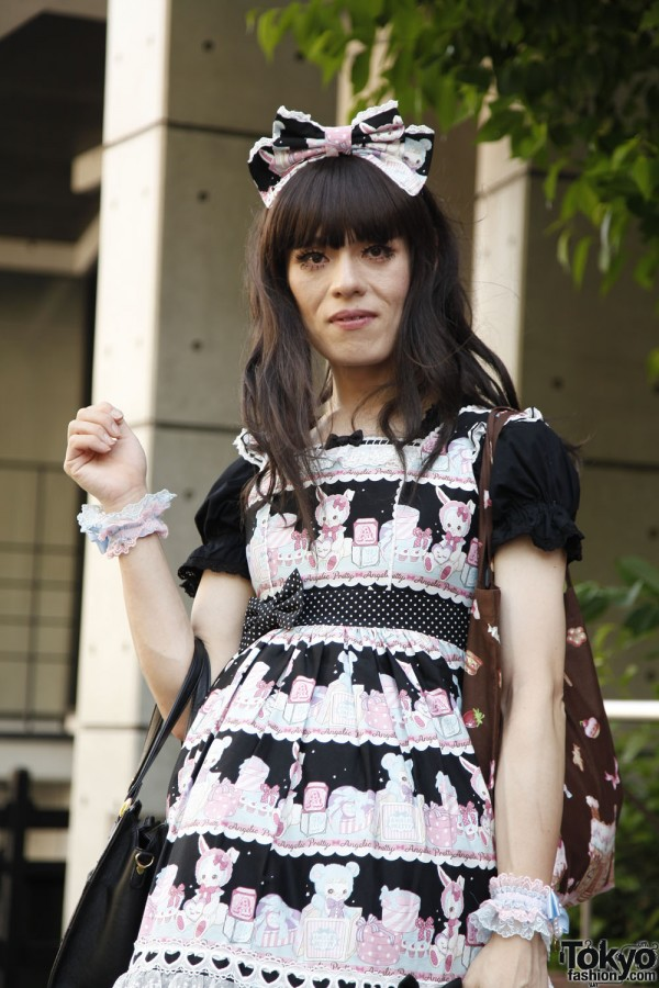 Harajuku Fashion Walk Street Snaps 10 (36)