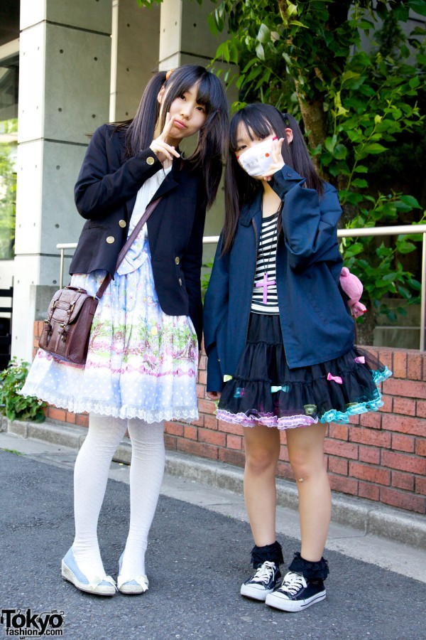 Harajuku Fashion Walk Street Snaps 10 (37)