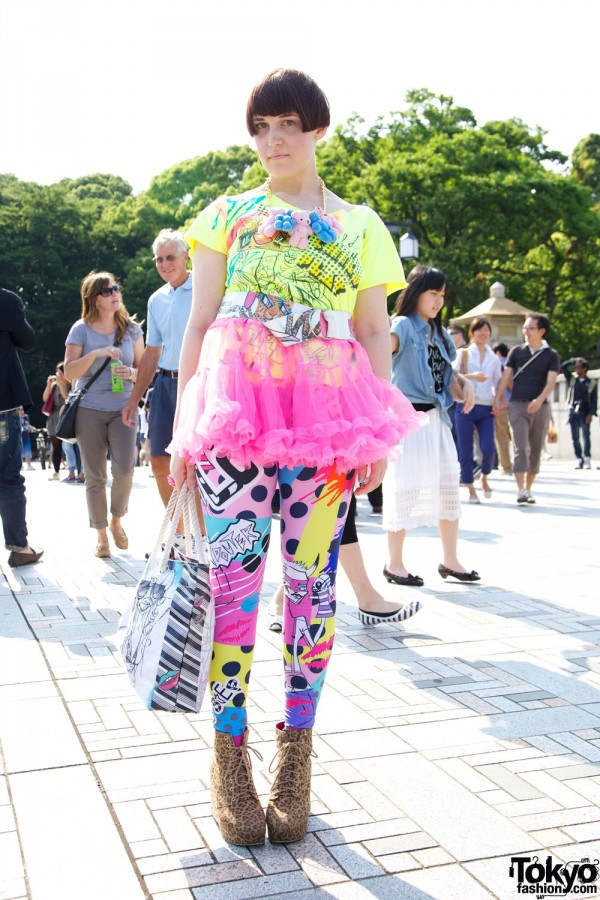 Harajuku Fashion Walk Street Snaps 10 (41)
