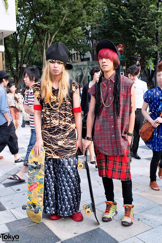 Harajuku Skaters
