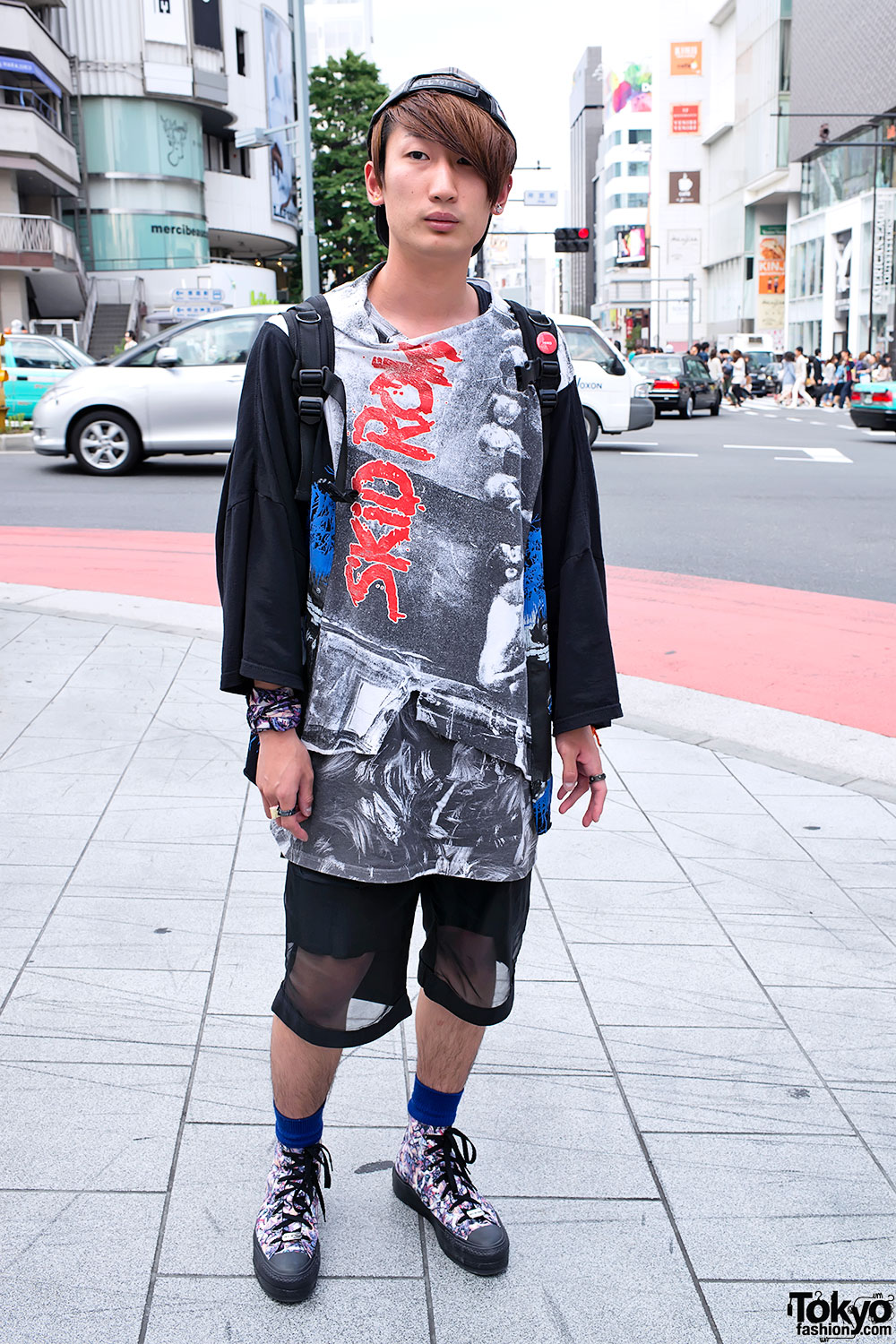 Skid Row Slave to the Grind in Harajuku