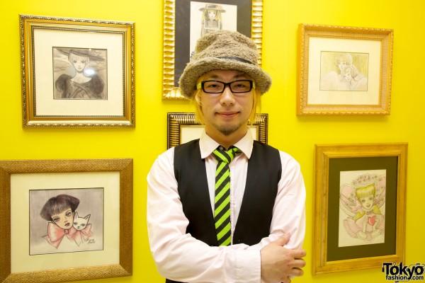 Sebastian Masuda at Rune Naito Roots of Kawaii