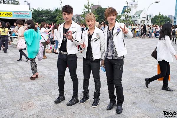SHINee World 2012 Tour in Tokyo – Fan Fashion Snaps
