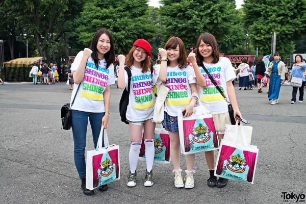 Shinee World 2012 Tokyo (3)