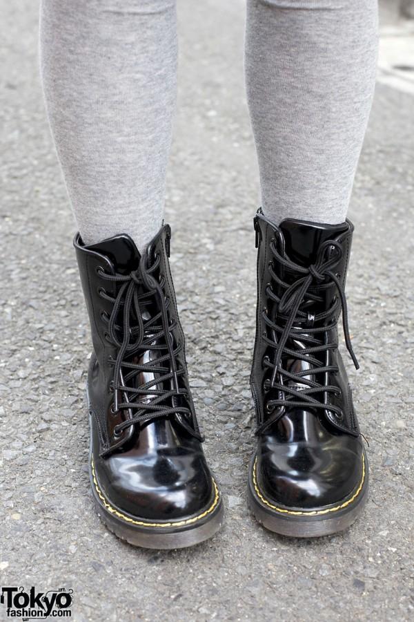 Boots from Takeshita Dori