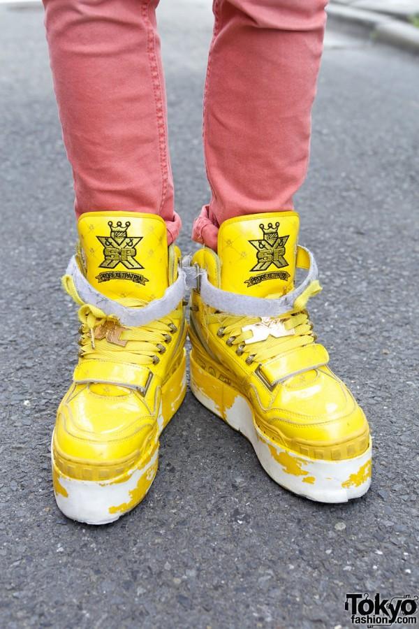Platform SPX Sneakers in Harajuku