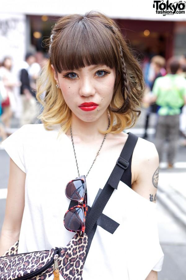 Girl's Gyda top in Harajuku