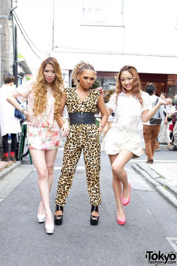 Japanese Gyaru Models