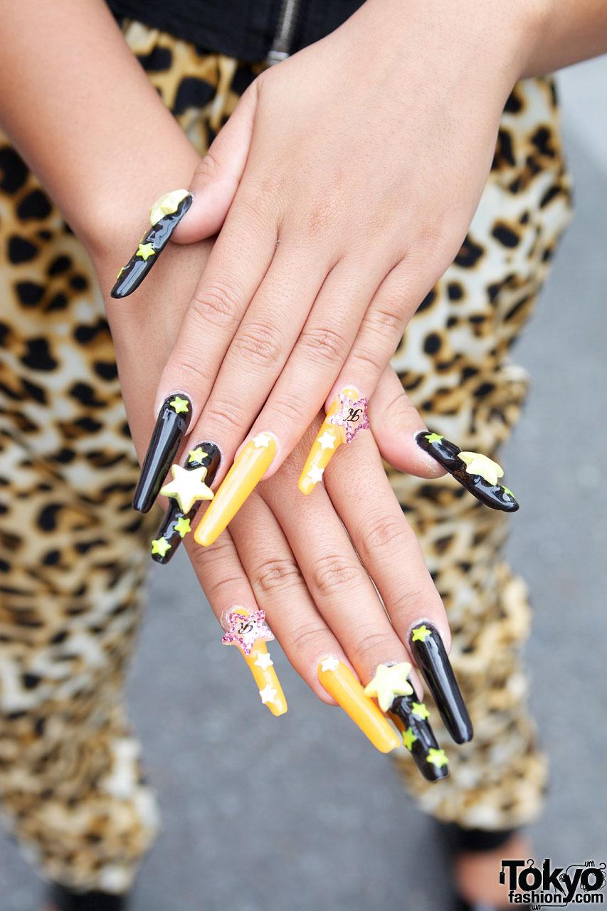 Japanese Gyaru Star Nail Art Tokyo Fashion News