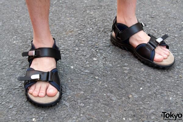 Lanvin sandals in Harajuku