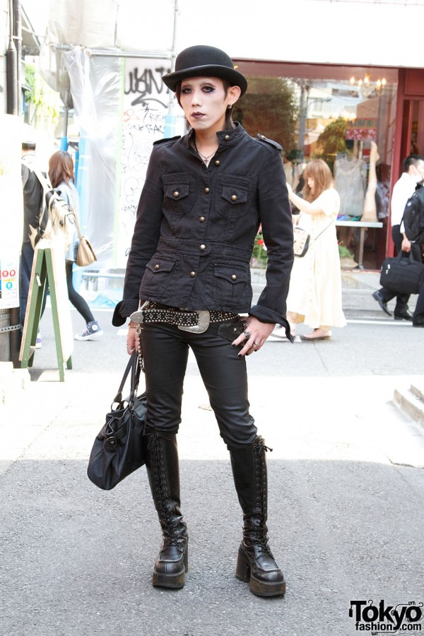 1970s Glam Punk Fashion in Harajuku