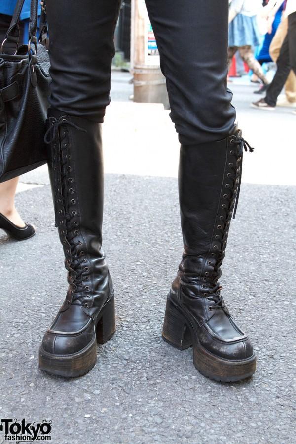 El Dantes Platform Boots