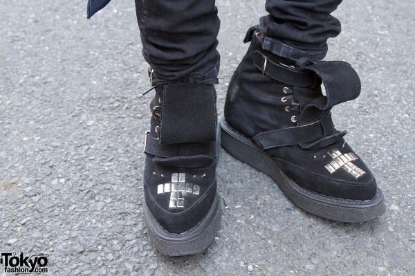 Labrat x George Cox studded boots