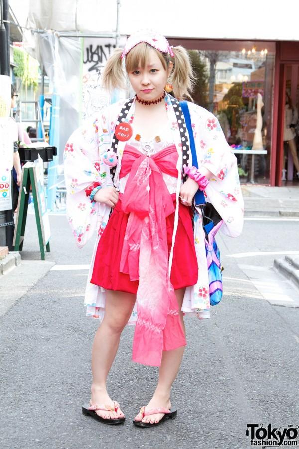 Indie Designer's Happi Coat, Nadia Hat & Obi-Style Bandeau