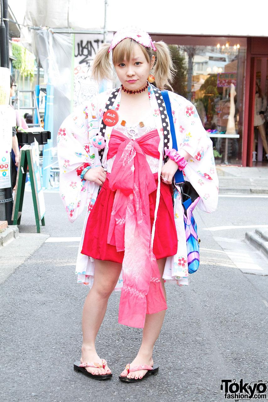 Indie designer s happi coat nadia hat obi style bandeau Japanese clothing designers