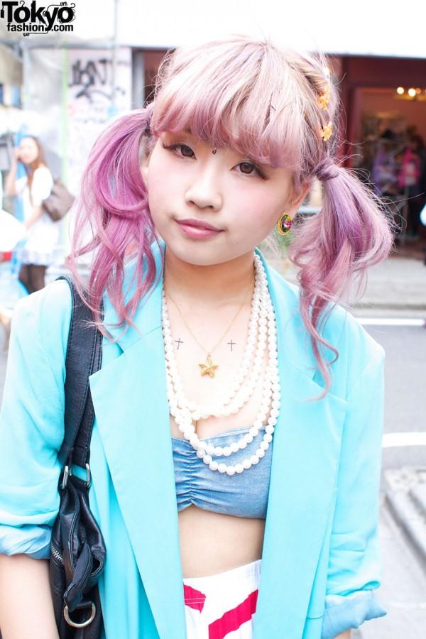 Pink Hair & Gyda Tube Top