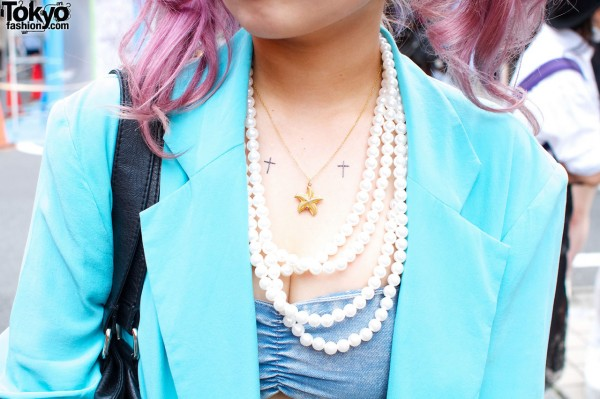 Starfish Necklace & Pearl Necklace
