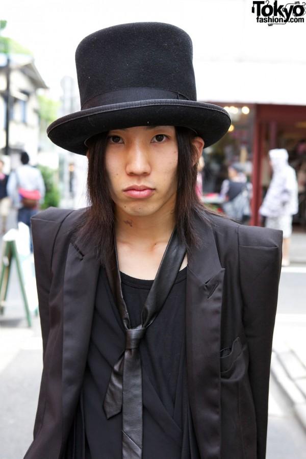 Top hat & tuxedo jacket