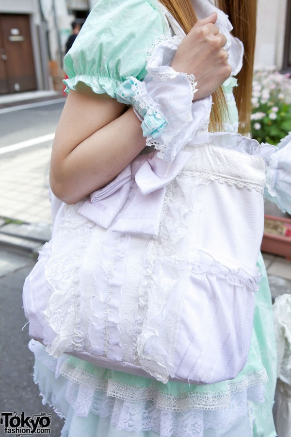 Lace Bow Lolita Bag in Harajuku