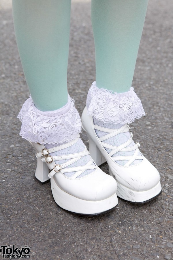 Yosuke Lolita Shoes in Harajuku