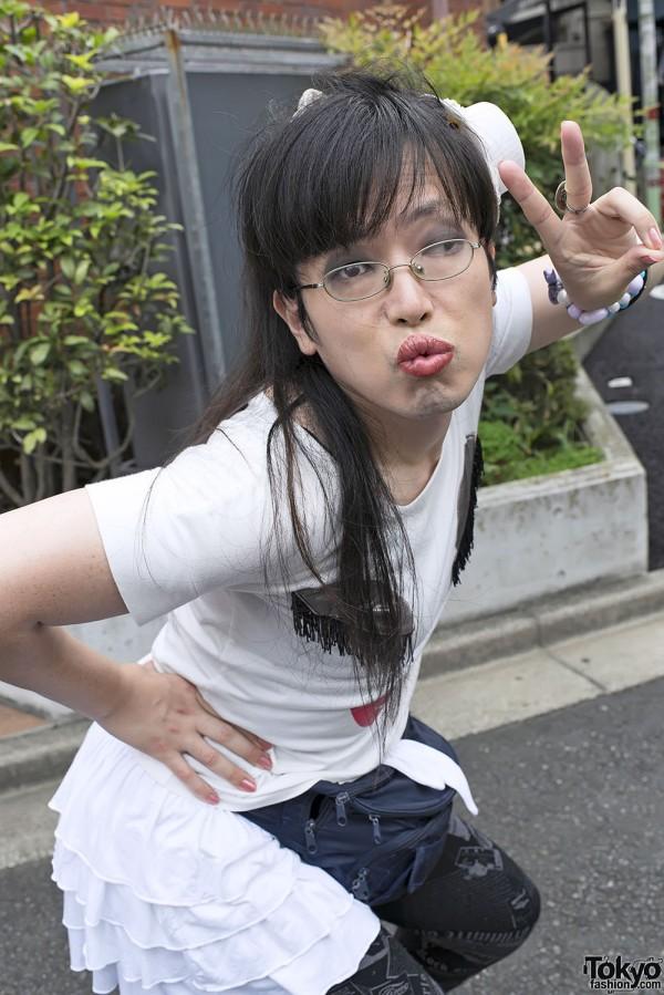 Harajuku Fashion Walk Street Snaps 11 (13)