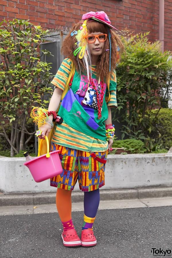 Harajuku Fashion Walk Street Snaps 11 (16)