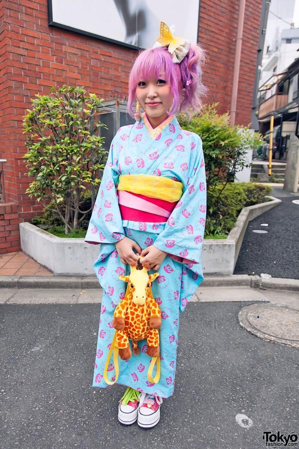 Harajuku Fashion Walk Street Snaps 11 (20)