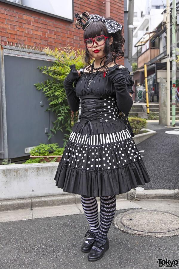 Harajuku Fashion Walk Street Snaps 11 (28)