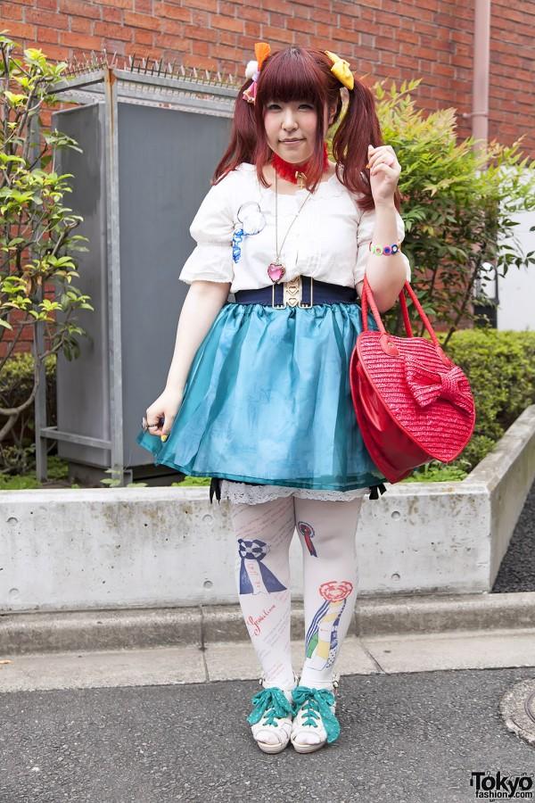 Harajuku Fashion Walk Street Snaps 11 (30)