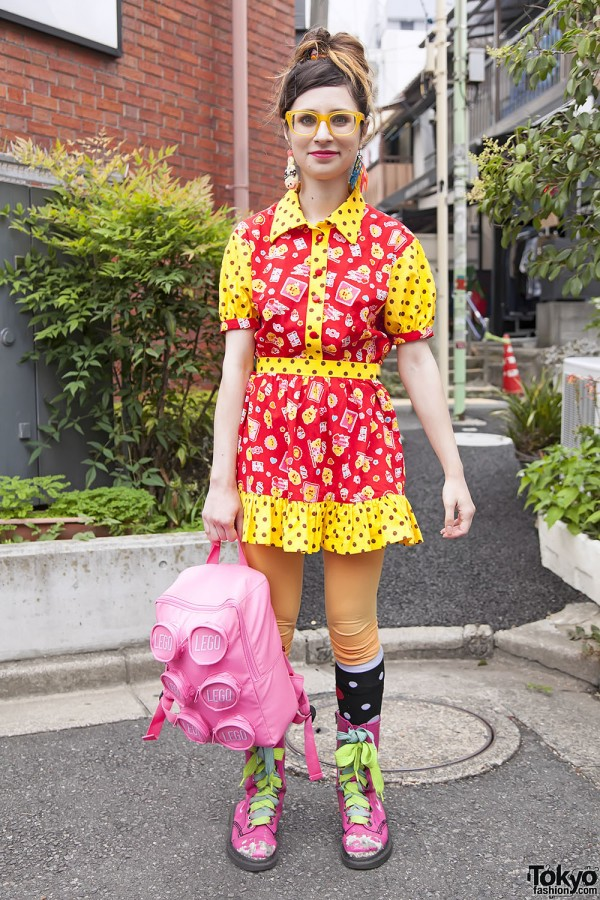 Harajuku Fashion Walk Street Snaps 11 (32)