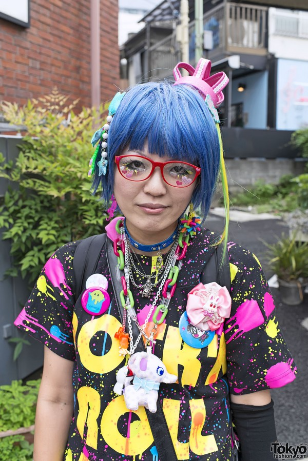 Harajuku Fashion Walk Street Snaps 11 (33)